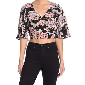 Band of Gypsies | San Paolo Crop Top | M | NWT